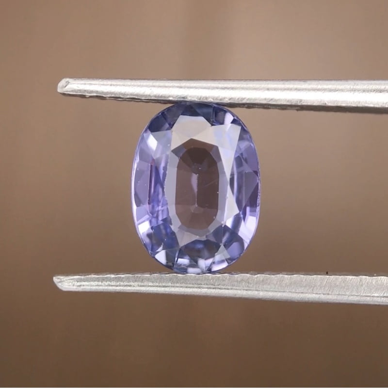 1.85ct Oval Mixed Cut Sapphire
