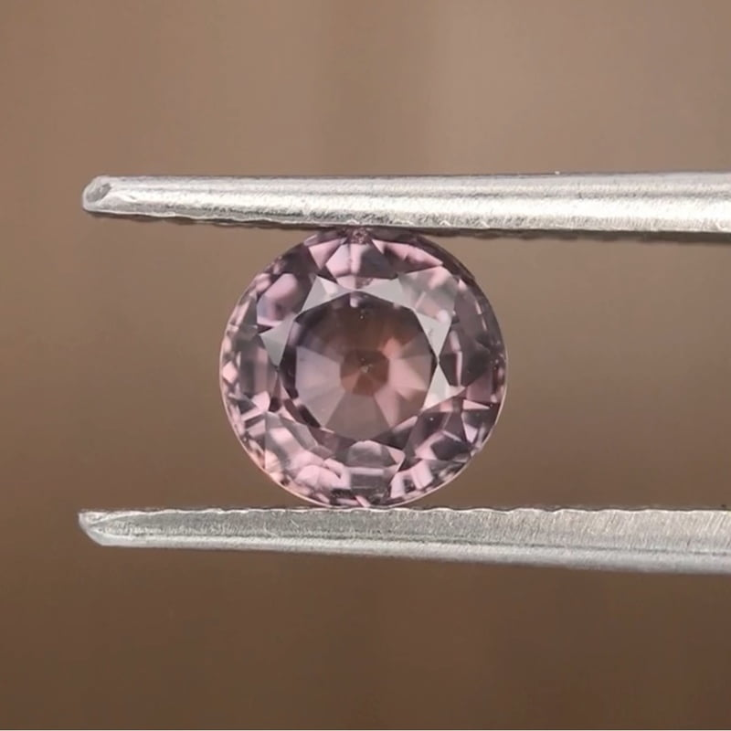 1.21ct Round Mixed Cut Sapphire
