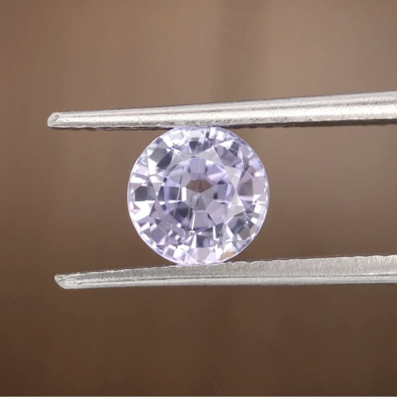 2.12ct Round Mixed Cut Sapphire
