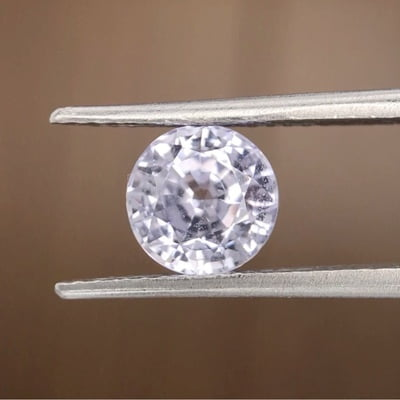 1.92ct Round Mixed Cut Sapphire