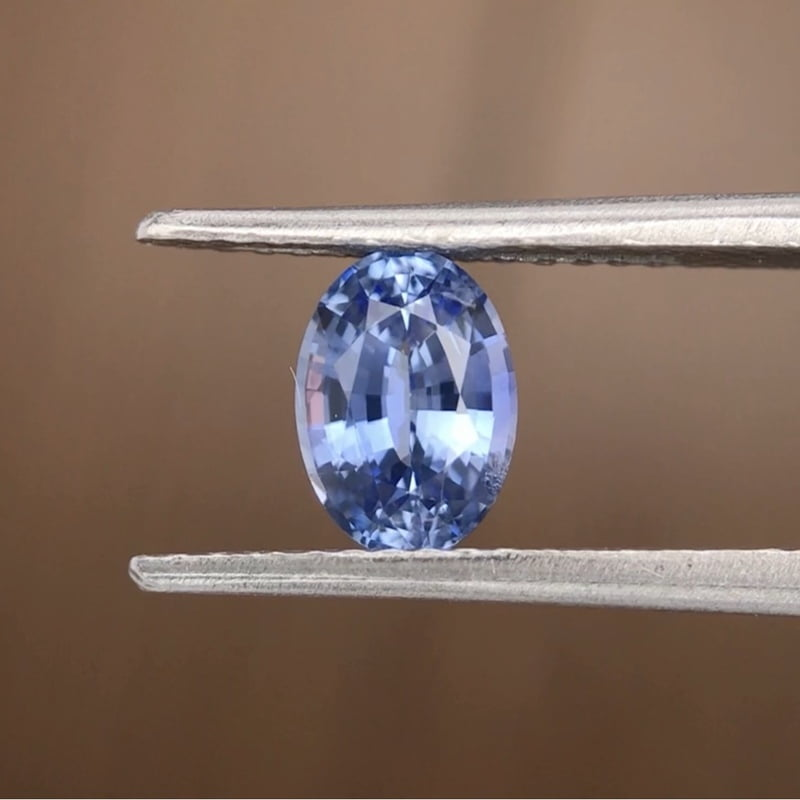 0.99ct Oval Mixed Cut Sapphire