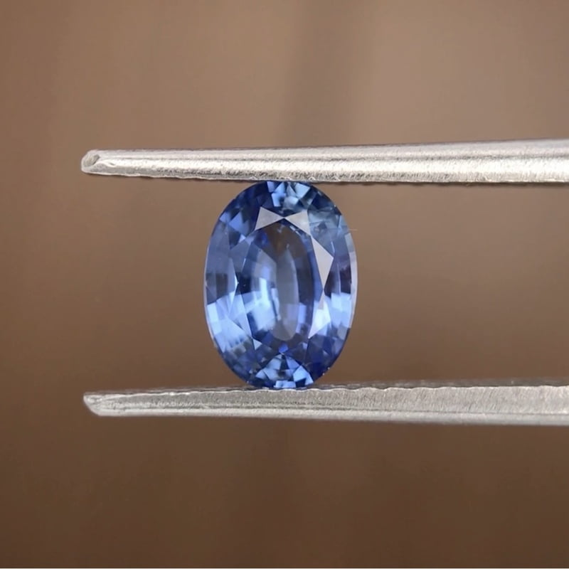1.01ct Oval Mixed Cut Sapphire