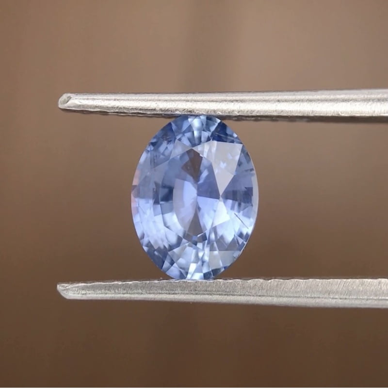 1.40ct Oval Mixed Cut Sapphire