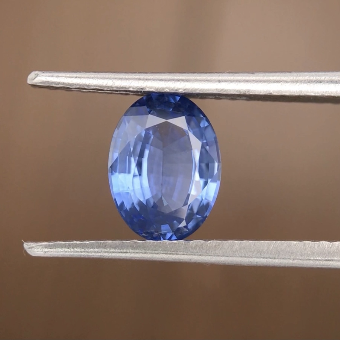 1.36ct Oval Mixed Cut Sapphire